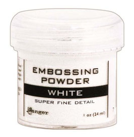 Basics Embossing Powder - Super Fine - White