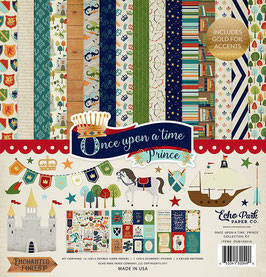 Echo Park - Once Upon A Time Collection - Prince - 30cm x 30cm Collection Kit