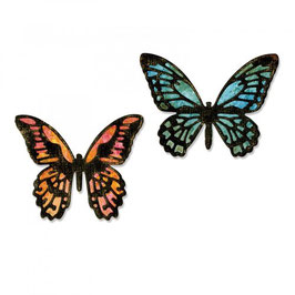 Sizzix Tim Holtz - Alterations Collection - Thinlits Die - Detailed Butterflies, Mini