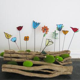 Fleurs de verre