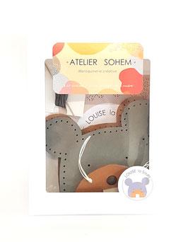 Porte-monnaie - Louise la souris