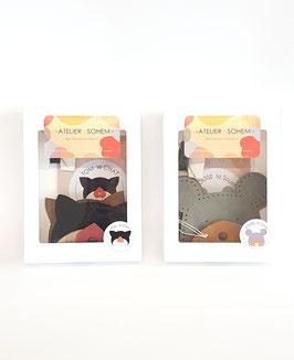 Porte-monnaies - Tom le chat et Louise la souris