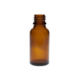-20 ml- Tropfflasche - Braunglas