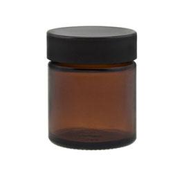 30ml Tiegel - Braunglas