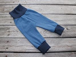Jerseyhose Ringel blau
