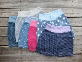 bequeme Jerseyshorts viele Muster