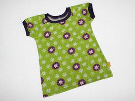 T-Shirt Converse Sterne grün-lila