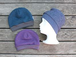 Mütze Wollwalk div Farben