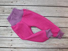 Hose Wollwalk pink