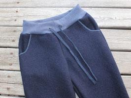 Walkhose Damen marineblau