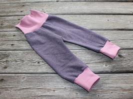 Sweathose lila-rosa