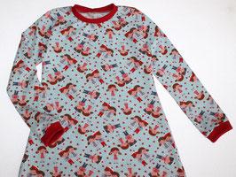 Nachthemd langarm Matrosenkinder
