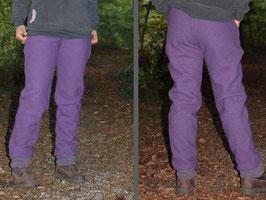 Walkhose Damen lila