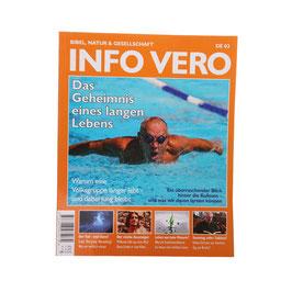 """Info Vero """"Das Geheimnis eines langen Lebens"""""""