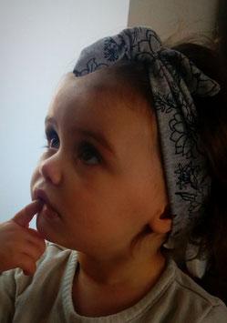 Bandeaux cheveux / Headbands fille simples à nouer ou enfiler sur mesure