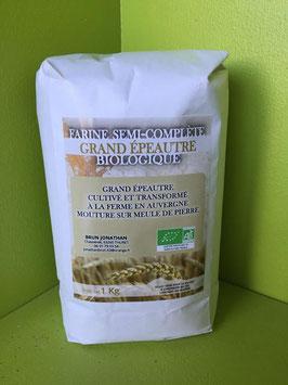 Farine semi complète grand épeautre bio
