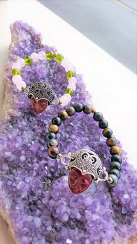 bracelet deesse bouddha pierre protections