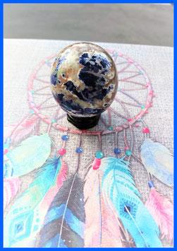 sphere sodalite 130 g / 5 cm