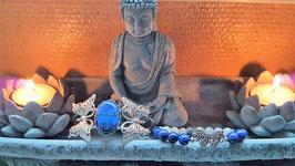 bracelet lapis lazuli papillon