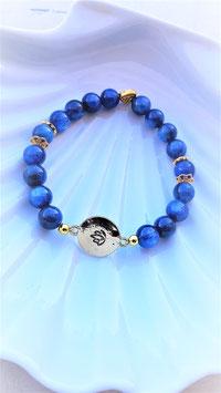 bracelet apatite lotus