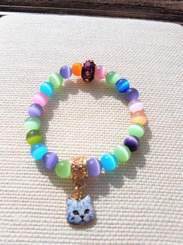bracelet oeil de chat