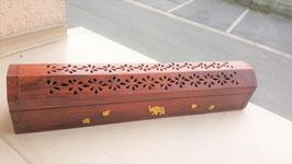 porte encens bois batonnet
