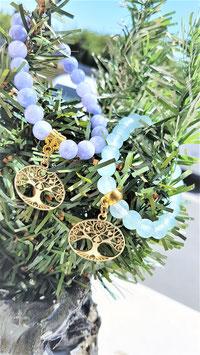 bracelet angelite /celestite