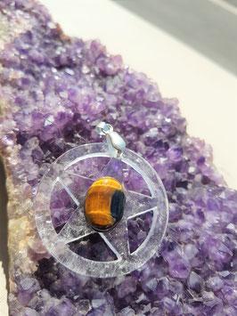 pentacle 4 cm pierre