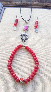 parure rubis 3 pieces