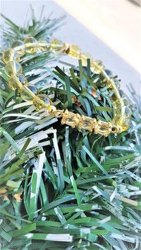 bracelet connecteur plaqué or