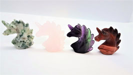 licorne sculter differents mineraux