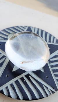 cristal de roche incrustation fantome