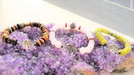 bracelets perle rondelle protecteur arbre de vie