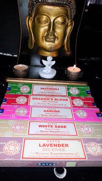 encens stick marque satya