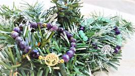 bracelet arbre de vie amethyste aventurine