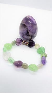 bracelet coeur fluorite