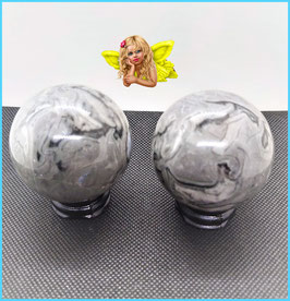 sphere jaspe picasso 5,5 cm