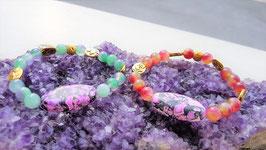 bracelet cadoine perle centrale jaspe