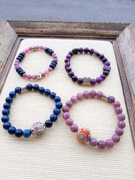 serie bracelet lepidolite