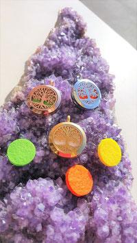 pendentif aromatherapie arbre de vie