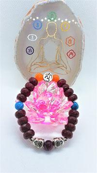 bracelet jade rondelle rouge rubis agate