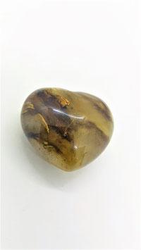 coeur quartz cerise