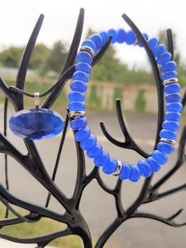 parure pierre saphir / bracelet saphir