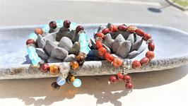 bracelet bouddhisme perle guru
