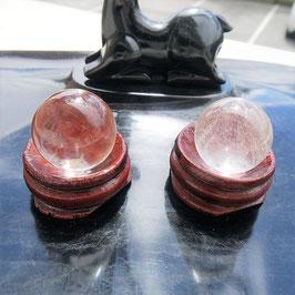 sphere crystal de roche