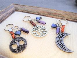 porte clefs medievale esoterique