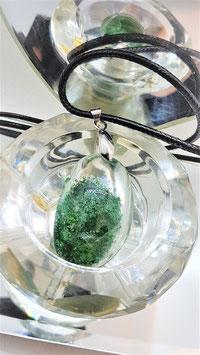 pendentif quartz lodolite gemme