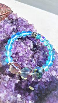 bracelet aqua aura sphere turquoise