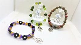 bracelet perle ronde et donus
