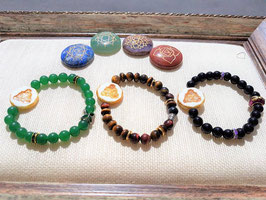 bracelet bouddha pierre naturel jaspe graver